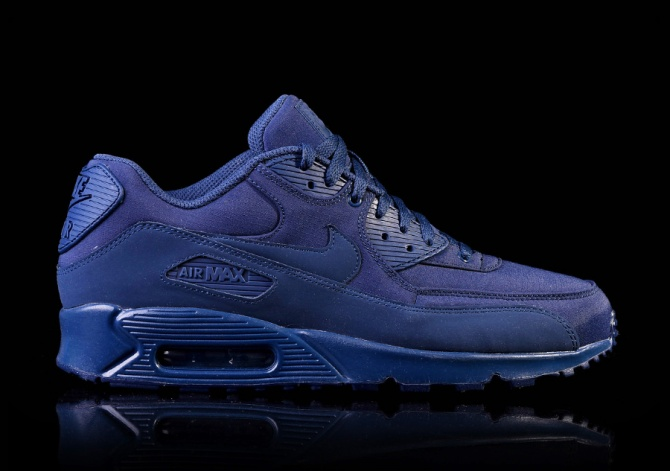 air max 90 navy blue