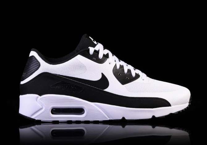 NIKE AIR MAX 90 ULTRA 2.0 ESSENTIAL BLACK-WHITE