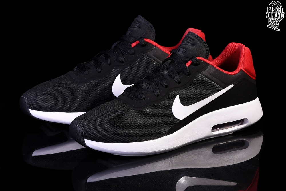 Details about NIKE AIR MAX MODERN ESSENTIAL Running Trainers Gym Casual Black Various Sizes