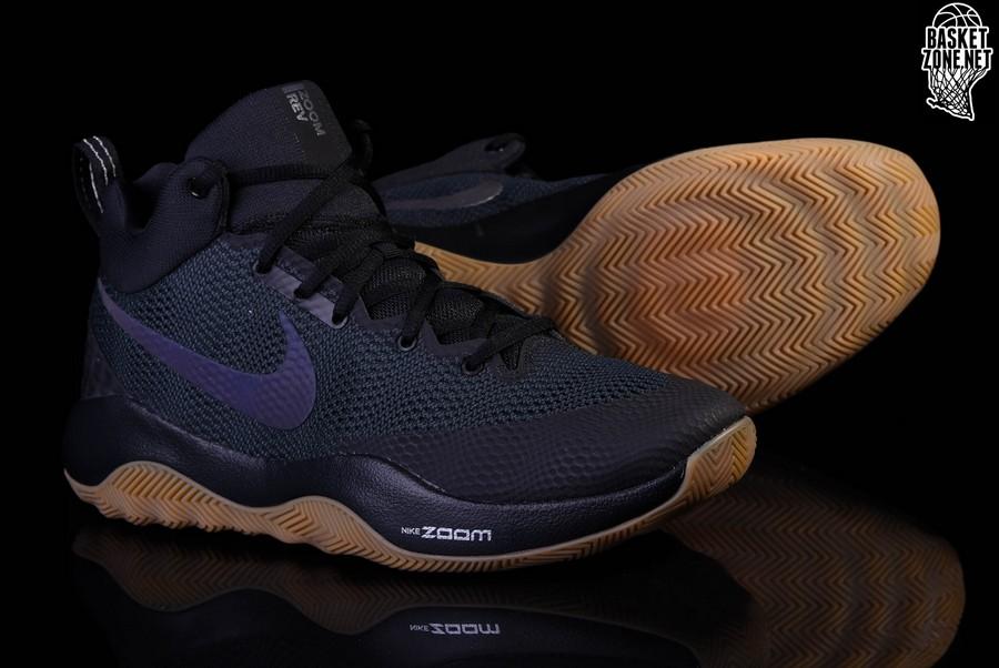 wholesale dealer fec9d f80dd ... Anthracite HyperRev-2 NIKE ZOOM REV 2017 BLACK GUM DEVIN BOOKER Nike  Zoom Rev EP 2017 Black Gum Men Basketball Shoes Sneakers 852423-010 ...