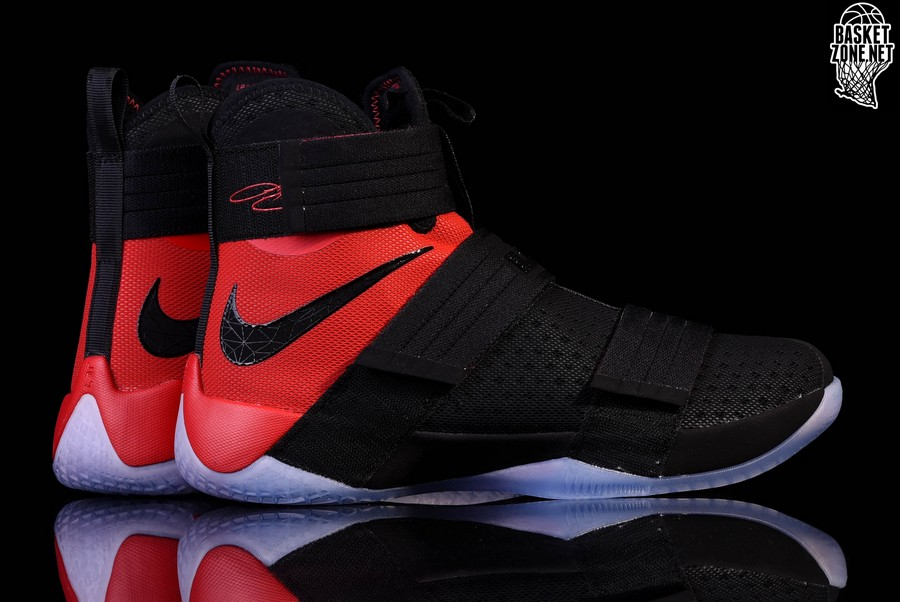 online store 15088 fa1d8 NIKE LEBRON SOLDIER 10 SFG BRED