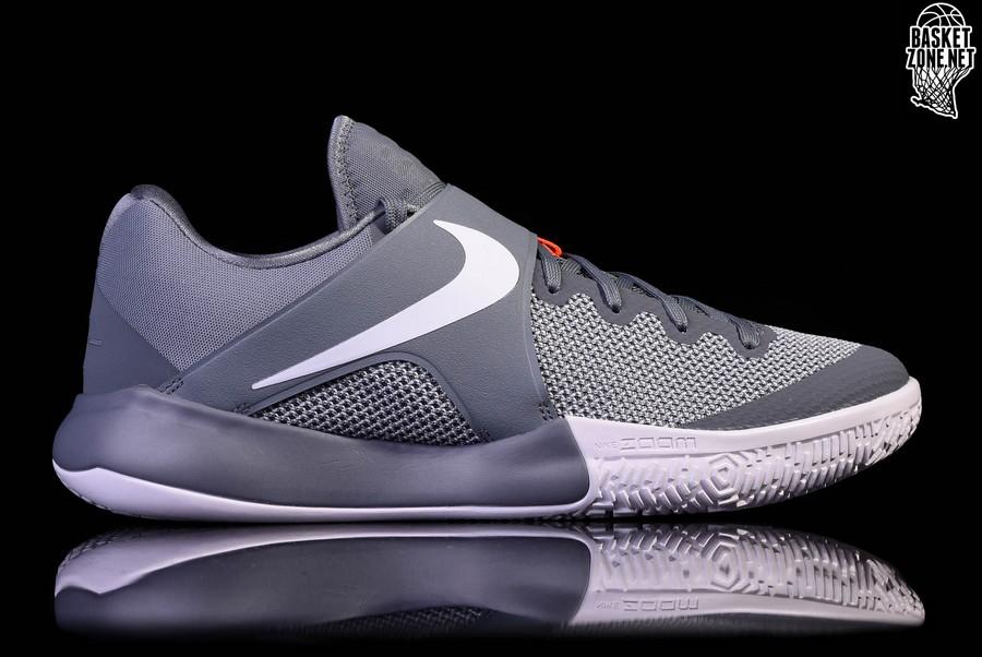 Nike Zoom Kobe 7 Unisex Basketball Shoes Grey/Orange /Nike Jordan [ N1201]