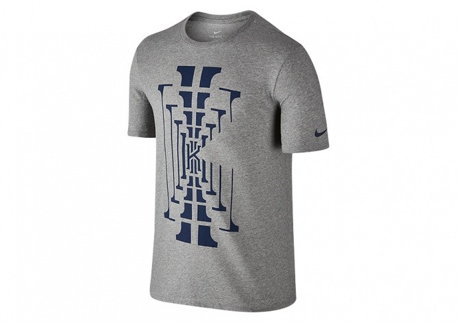 NIKE DRY KYRIE BM 1 TEE DARK GREY HEATHER