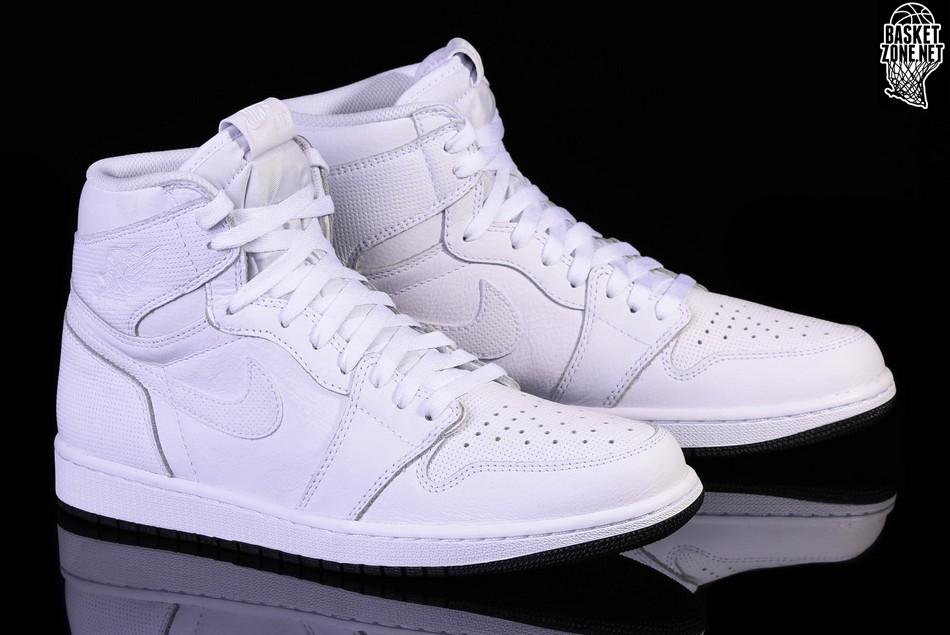 1985 Jordan 1 Blanc Perforé