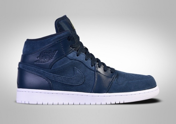 NIKE AIR JORDAN 1 RETRO MID ARMORY NAVY