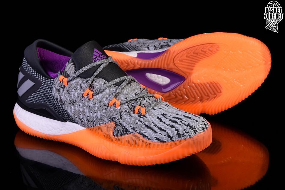 on sale 8ae5e e111e ... ADIDAS CRAZYLIGHT BOOST LOW 2016 ALL-STAR EDITION ... adidas crazylight  boost orange purple . ...