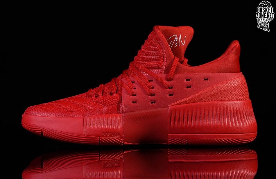 half off 574f8 439fb adidas dame 3 roots release