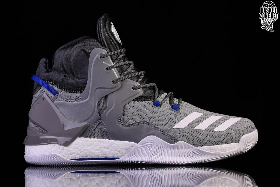 sports shoes 9c427 5ba7c ADIDAS D ROSE 7 PRIMEKNIT SOLID GREY. BB8212. PRICE
