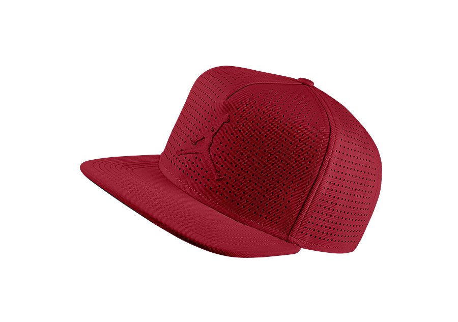 47c7753175a ... sale nike air jordan jumpman perforated snapback hat gym red price  27.50 basketzone 25d14 82000