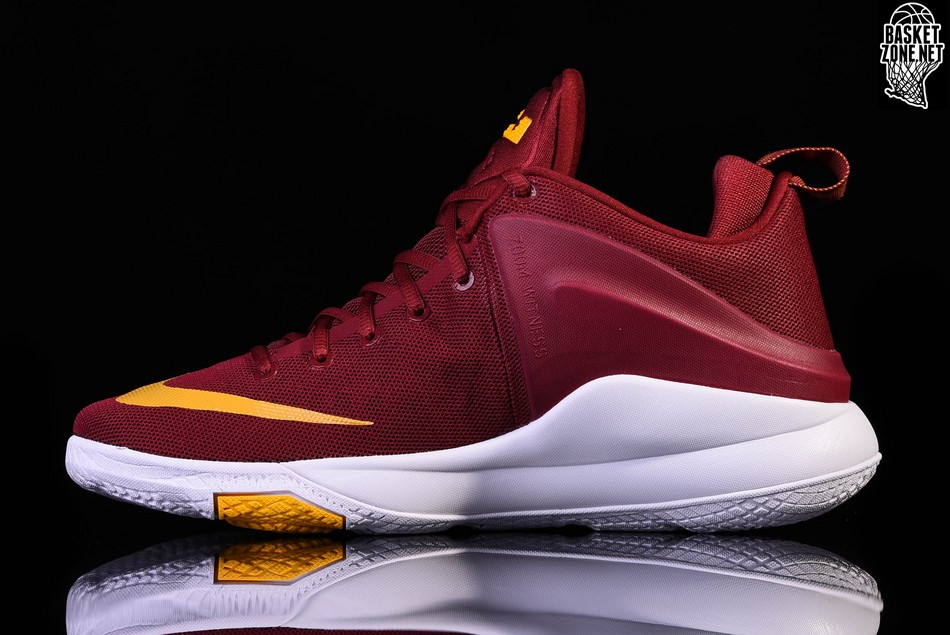huge selection of bc512 41de6 ... gold NIKE LEBRON ZOOM WITNESS CAVALIERS WINE ...
