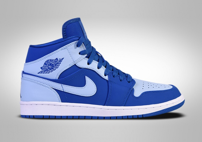 NIKE AIR JORDAN 1 RETRO MID ICE BLUE
