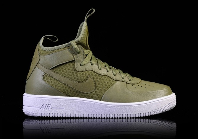 NIKE AIR FORCE 1 ULTRAFORCE MID PALM GREEN