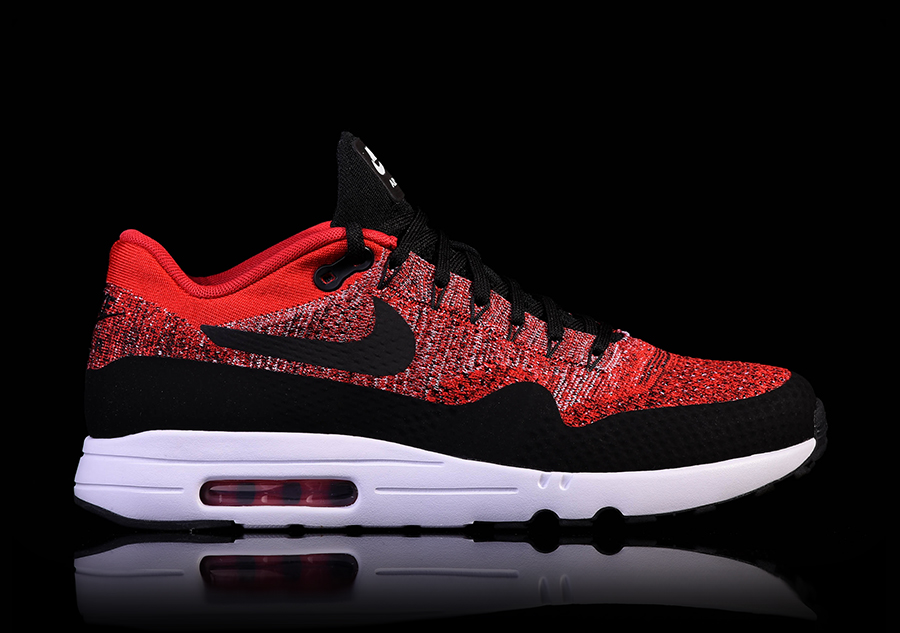 nike air max 1 ultra 2 0 flyknit university red for 137. Black Bedroom Furniture Sets. Home Design Ideas