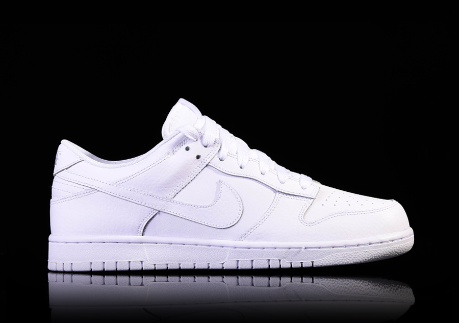 super popular 2e37f 9a18a NIKE DUNK LOW WHITE price €77.50  Basketzone.net