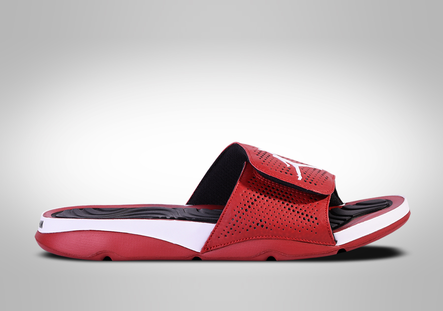 low cost 83ad4 f422a NIKE AIR JORDAN HYDRO 5 SLIDE WHITE RED price €52.50 ...