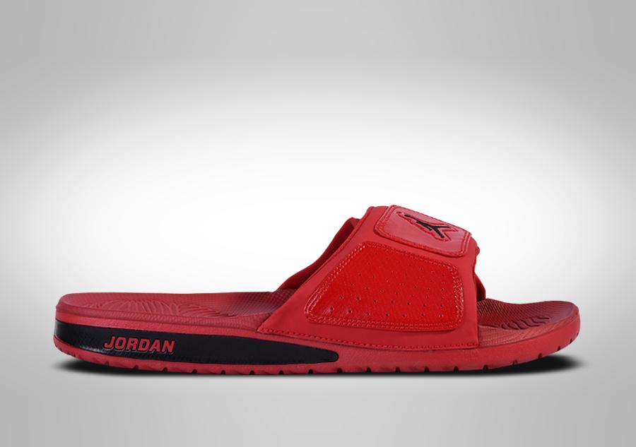 6834dc3eaa30 NIKE AIR JORDAN HYDRO 3 SLIDE SANDALS RED BLACK price €42.50 ...