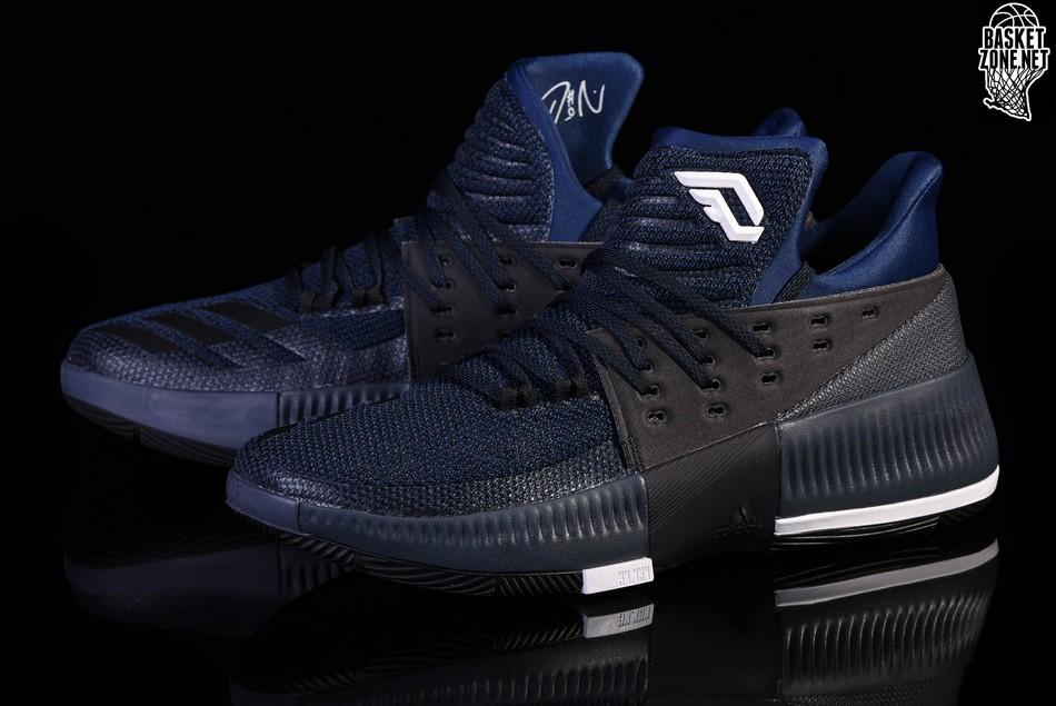 adidas dame 3 navy