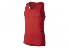 NIKE DRY HYPER ELITE BASKETBALL TOP TRACK RED