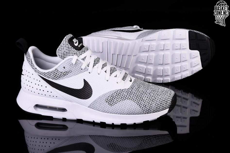 a3657b8f648 Nike Air Tavas White Black Squared Nike Air Troupe Mid Silver