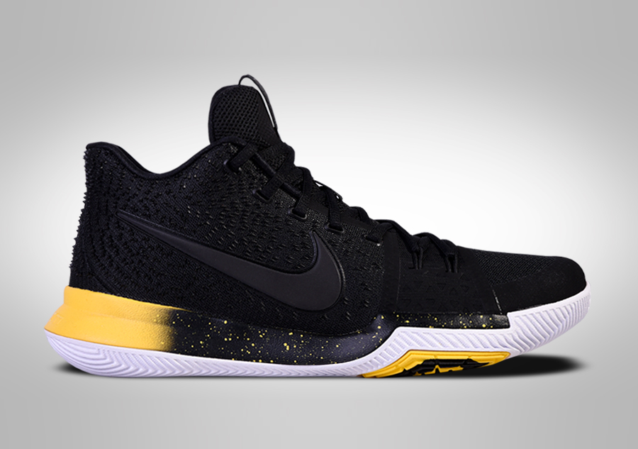 sports shoes 2a083 d6057 NIKE KYRIE 3 BLACK YELLOW price €105.00 | Basketzone.net