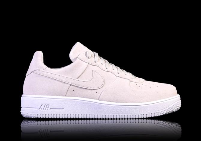 Nike Air Force 1 Mid Unisex Sports X4p7525 Summit White Wolf Grey Qs