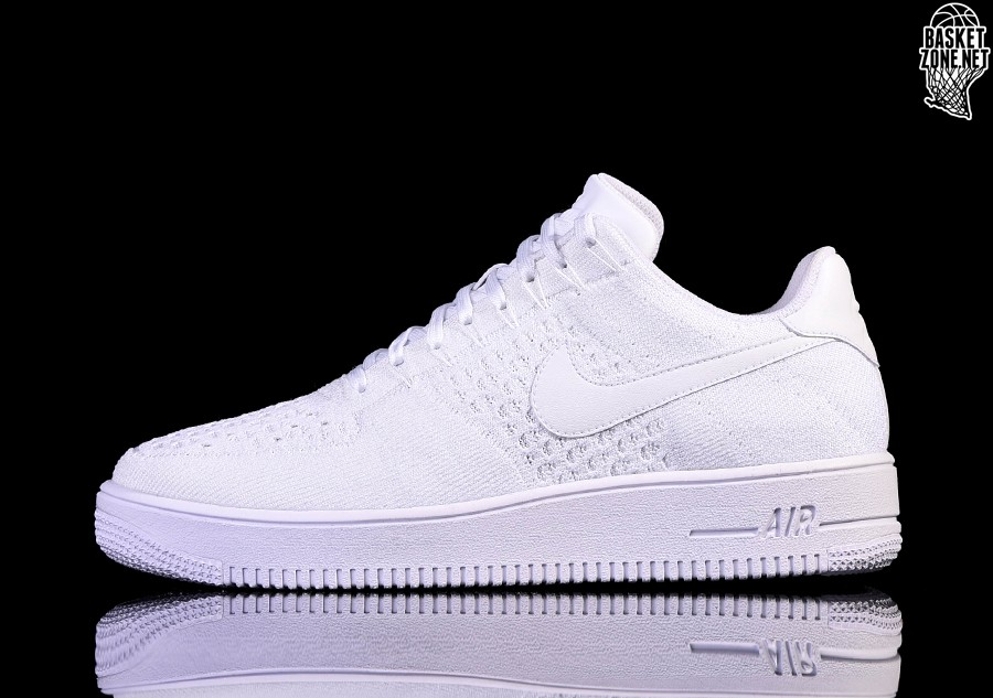 nike air force 1 ultra flyknit white low