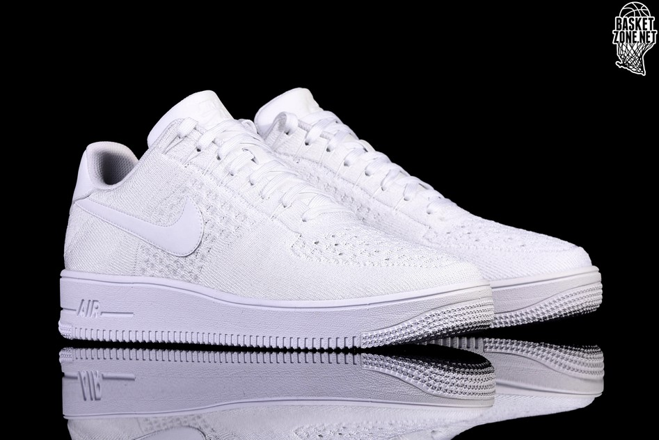 quality design 3eaa6 8a77f NIKE AIR FORCE 1 ULTRA FLYKNIT LOW WHITE