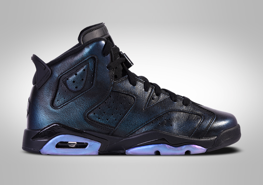 reputable site 3d6e0 ca20b NIKE AIR JORDAN 6 RETRO ALL-STAR GOTTA SHINE BG (SMALLER-SIZE)