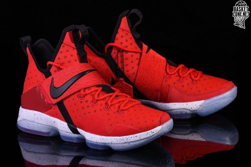 new styles a40bd 31d26 NIKE LEBRON 14 RED BRICK ROAD