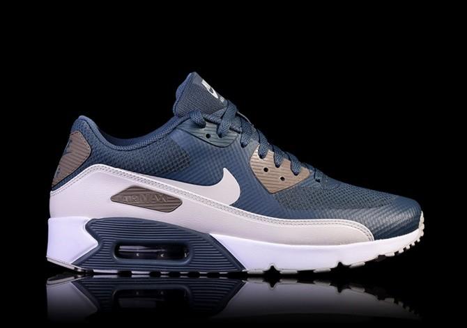 2019 España Mens Nike Air Max 90 BR Retro Running Shoes Blue
