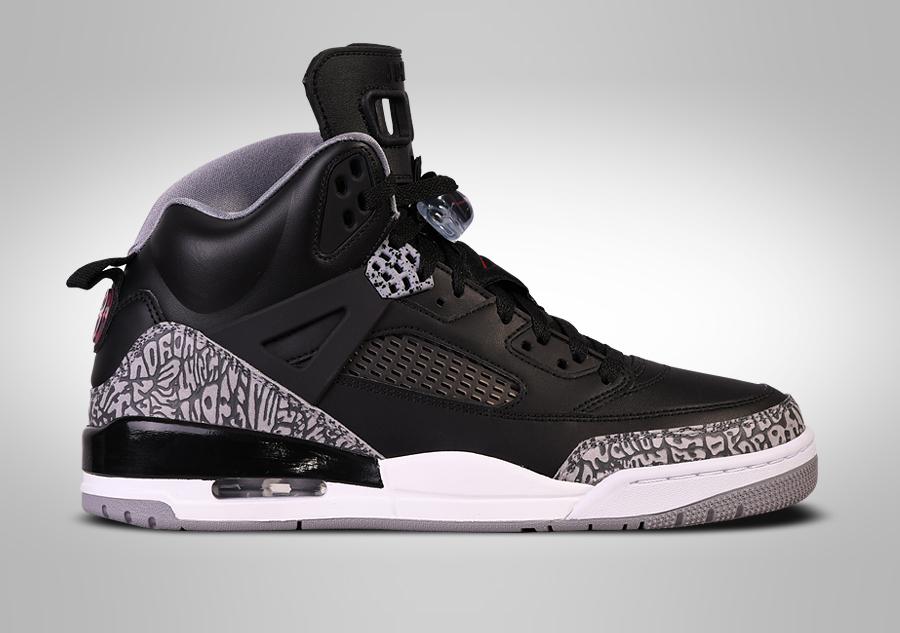 UK sale Men Nike Air Jordan Spizike 3.5 In Black Dark Brown Shoes