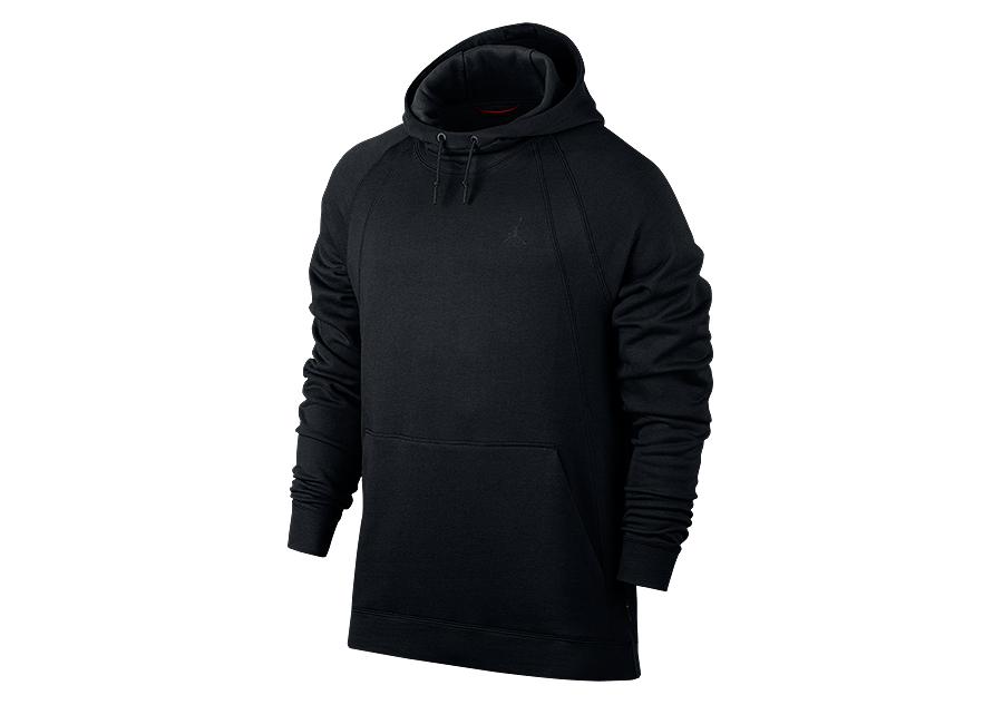 Jordan hoodies black and white