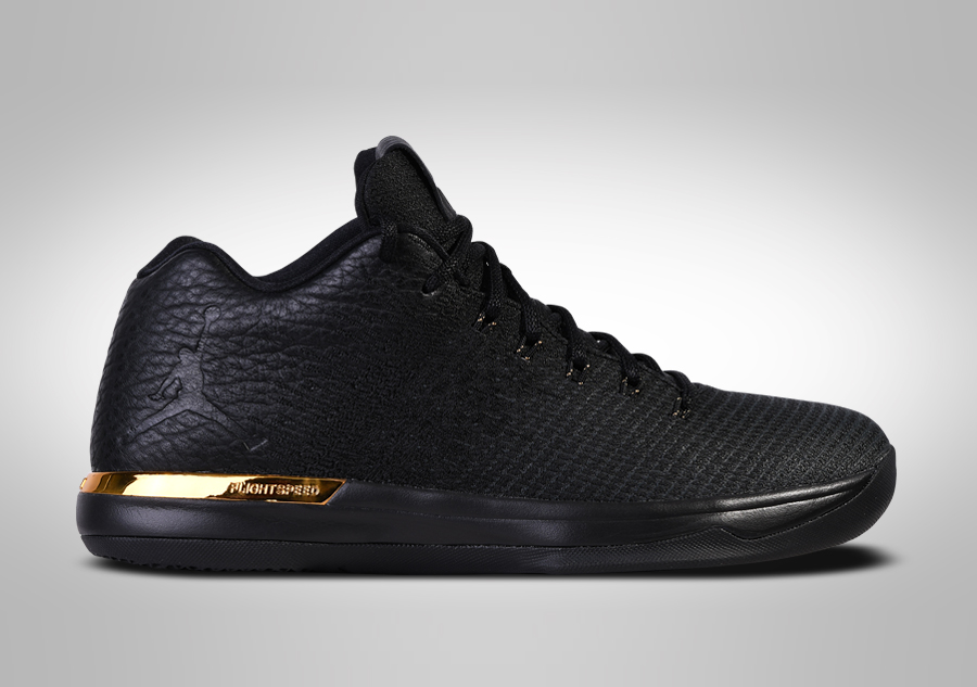 NIKE AIR JORDAN XXX1 LOW BLACK GOLD