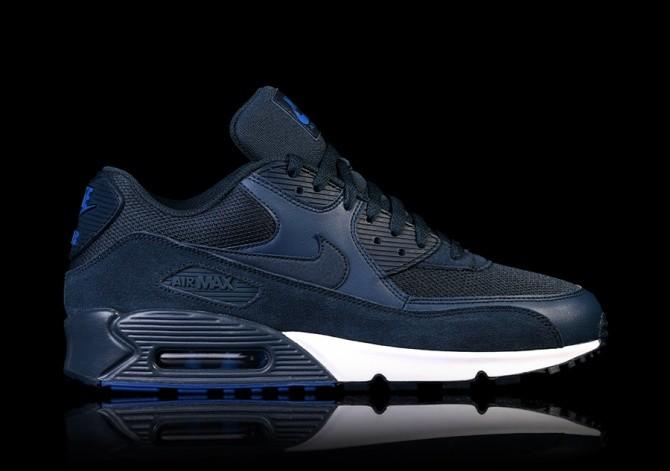 NIKE AIR MAX 90 ESSENTIAL NAVY BLUE