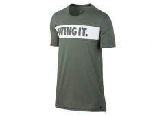 NIKE AIR JORDAN 'WING IT.' TEE DARK STUCCO