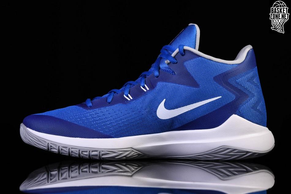 Nike Zoom Evidence Basketball Shoes Blue