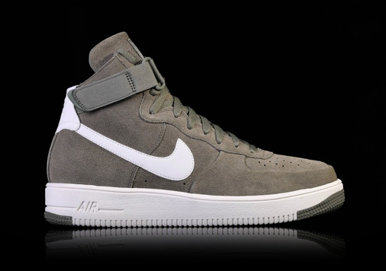 premium selection c0a6a b8e39 NIKE AIR FORCE 1 ULTRAFORCE HIGH DARK STUCCO