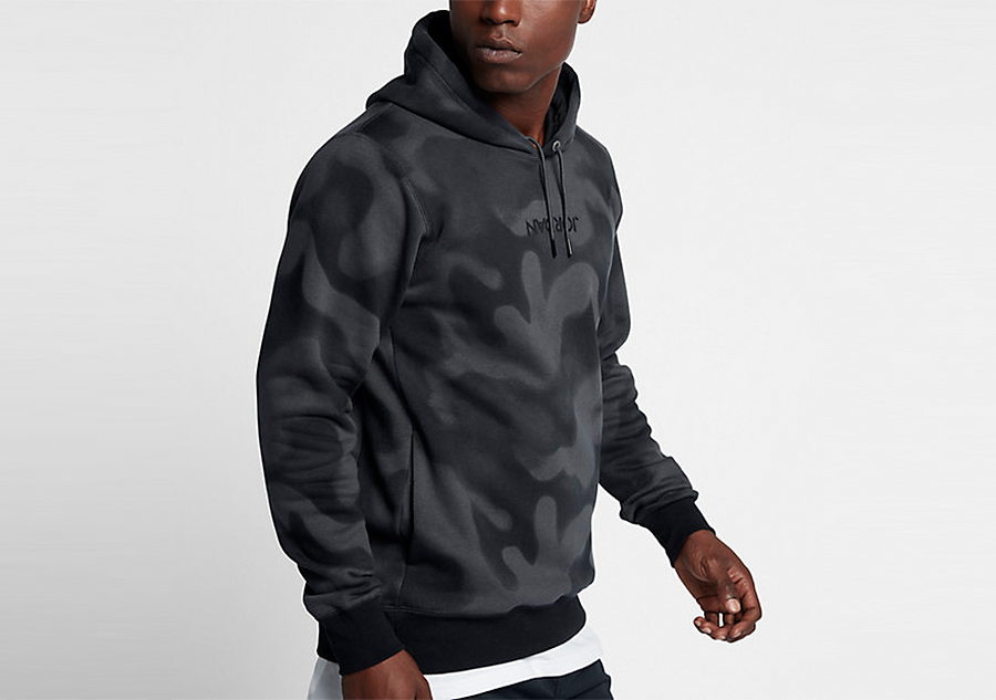 dc82b8f3f2d5 NIKE AIR JORDAN P51 FLIGHT FLEECE PULLOVER HOODIE ANTHRACITE price €82.50
