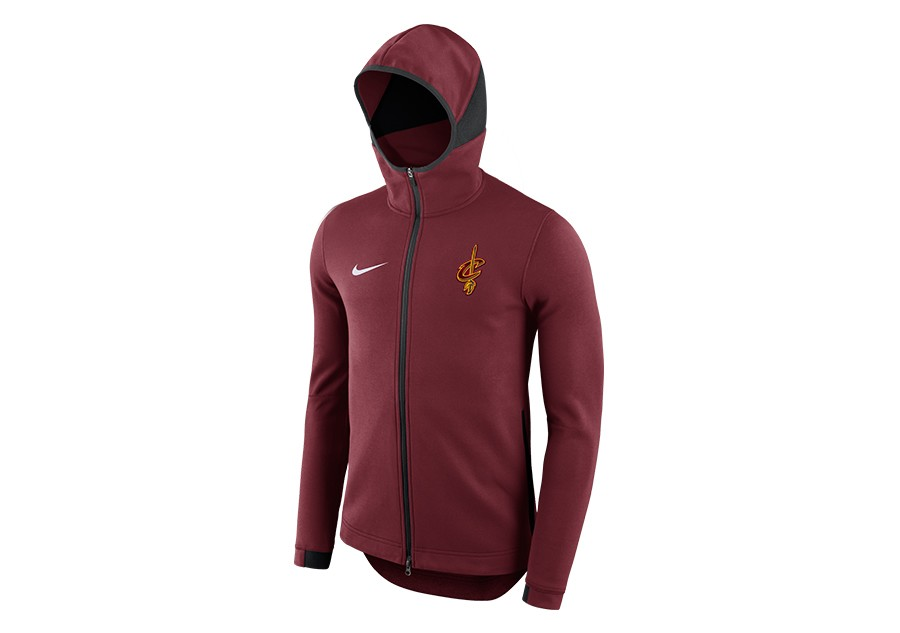NIKE NBA CLEVELAND CAVALIERS DRY SHOWTIME HOODIE TEAM RED per €92 19a97f8f4