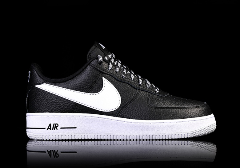 nike air force 1 nba black
