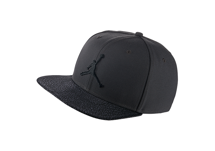 463304d985a ... hot nike air jordan elephant bill snapback anthracite price 27.50  basketzone 9bdef 1fb12