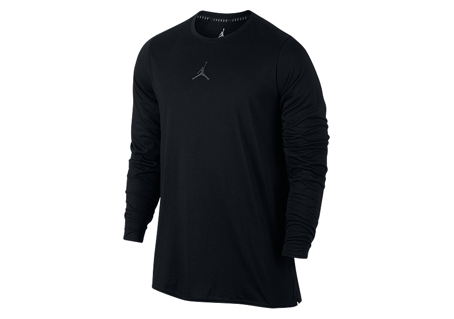 5356a483d9be NIKE AIR JORDAN 23 ALPHA DRY LONG-SLEEVE TOP BLACK price €37.50 ...