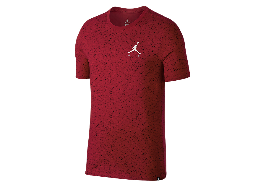 998ee1788ca NIKE AIR JORDAN SPORTSWEAR SPECKLE ALLOVER PRINT TEE GYM RED price €32.50