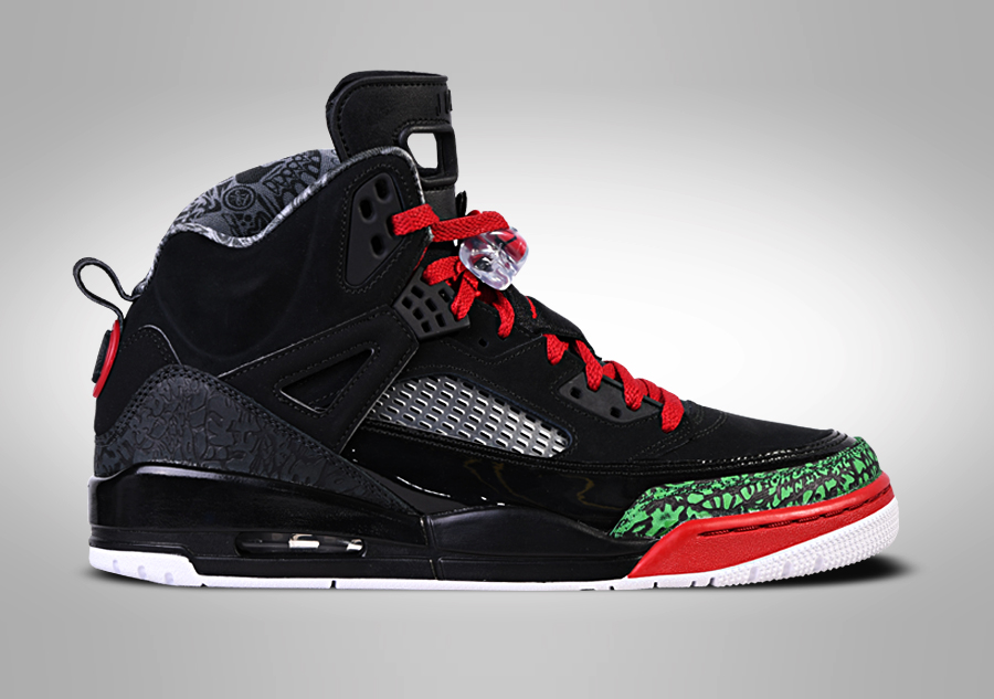 Air Jordan Spizike 3.5 Black Challenge Red Jordan Basketball Shoes 2017