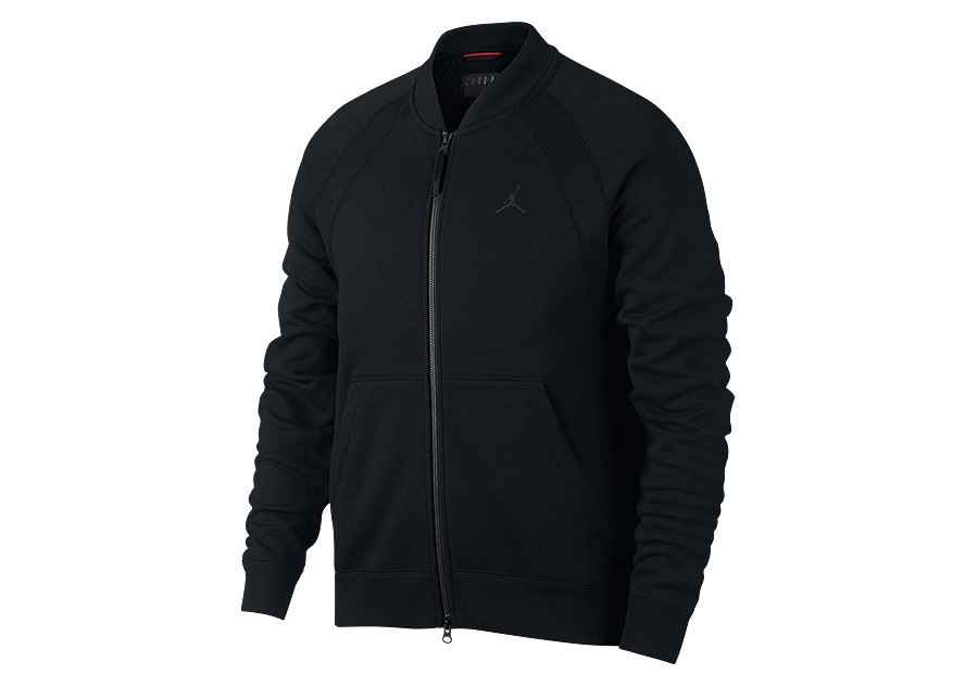 NIKE AIR JORDAN SPORTSWEAR WINGS FLEECE BOMBER JACKET BLACK price €87.50  d503553d6
