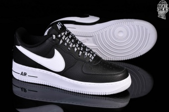 low priced 957c9 3fa1e NIKE AIR FORCE 1 07 LV8 NBA PACK BLACK