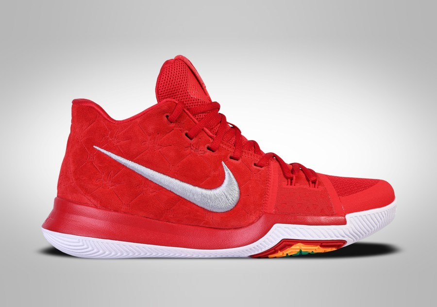 new style 75f19 d6e8a NIKE KYRIE 3 RED SUEDE