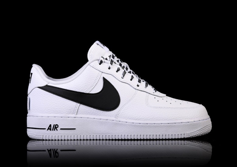 Zapatillas Nike Air Force 1 Low Nba Negro Blanco Nuevo 2017