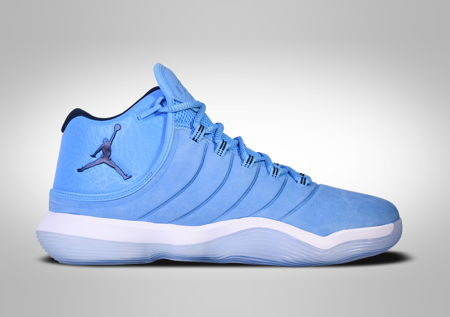 new styles 003e1 18cca NIKE AIR JORDAN SUPER.FLY 2017 NORTH CAROLINA BLUE price €129.00    Basketzone.net