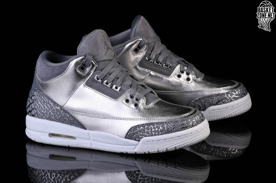 outlet store c805c 783d5 NIKE AIR JORDAN 3 RETRO PREM HC CHROME